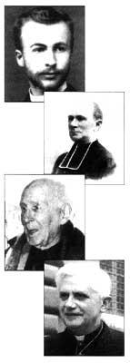 Maurice Blondel, el Padre Alfred Loisy, el Cardenal Henri de Lubac, Ratzinger Cardina