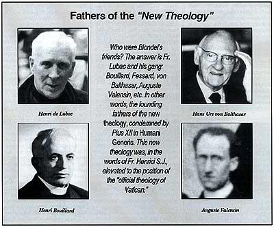 """Padres de la """"Nueva Teología"""""""