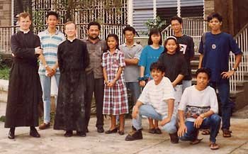 the founding fathers of the new mission in the Philippines