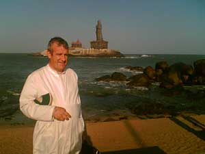 Fr. du Chalard at Cape Comorin