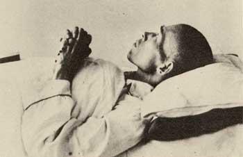 Dr. Nagai praying