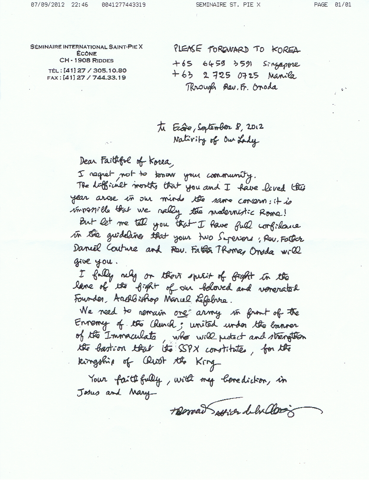 No rome sspx accord from cfn letter from fr couture asia district actual fax letter thecheapjerseys Gallery